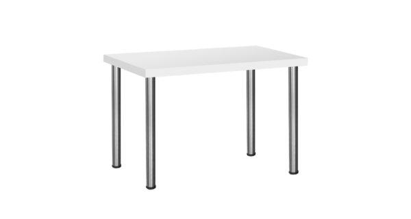 Konferenztisch 1,20m weiß 3