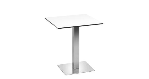 Tisch Boston 68cm weiß outdoor 1