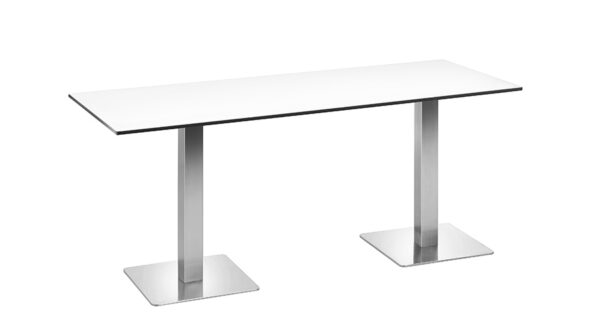 Tisch Boston 1,80m weiß outdoor 1