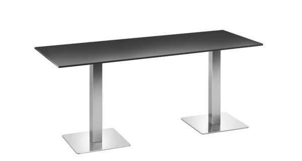 Tisch Boston 1,80m schwarz outdoor 3