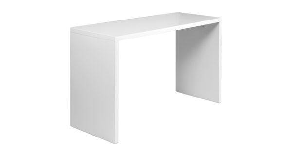 Brückenstehtisch 1,80m x 80cm weiß 3