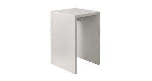 Brückenstehtisch 68cm weiß 14