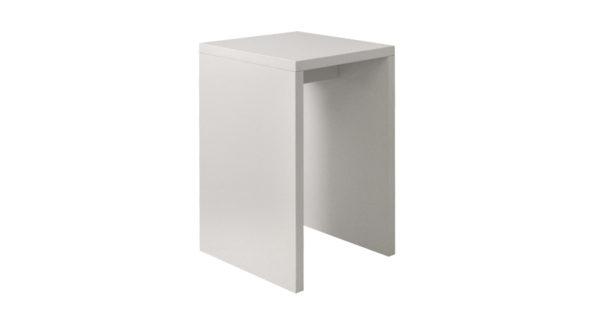 Brückenstehtisch 68cm weiß 3