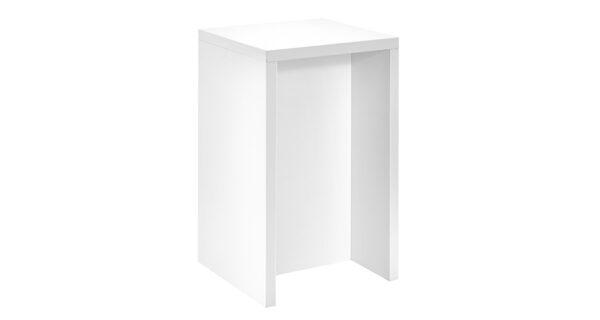 Counter / Empfangstresen weiß 68cm x 68cm x 1,10m 1