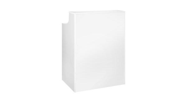 Empfangs-/ Akkreditierungscounter weiß 0,80 m 1