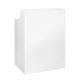 Counter / Empfangstresen weiß 68cm x 68cm x 1,10m 2