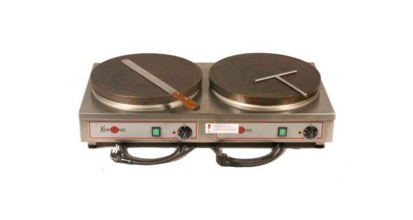 Crépesgerät 2 Platten Ø 40 cm, Elektro 3