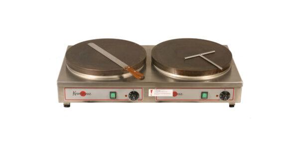 Crépesgerät 2 Platten Ø 40 cm, Gasbetrieb 1