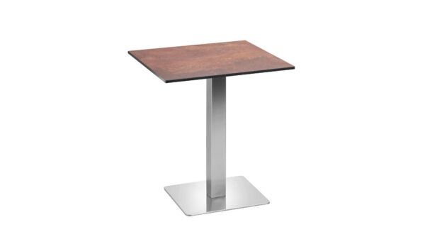 Tisch Boston 68cm Rusty Steel 1