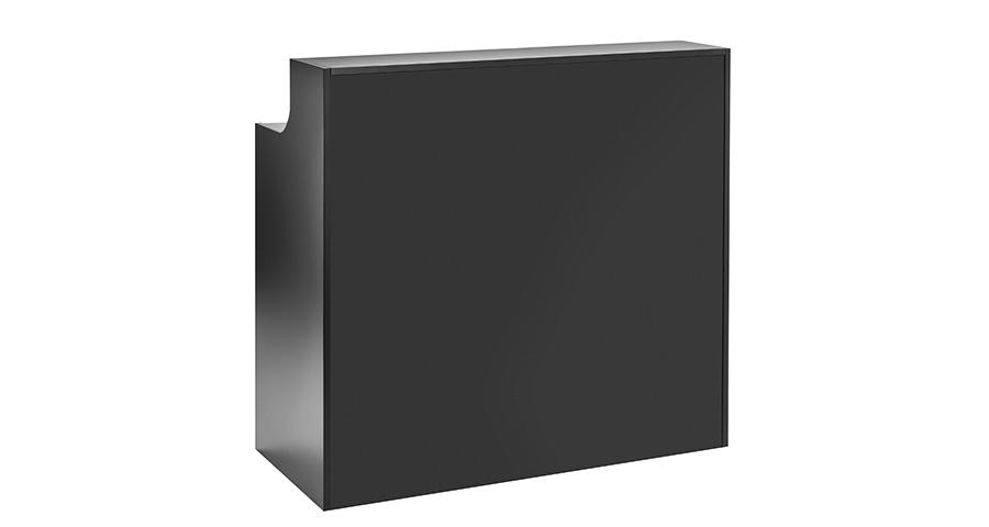 Empfangs-/ Akkreditierungscounter schwarz 1,20 m