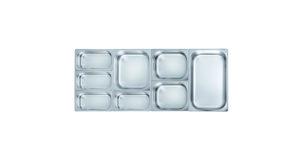 Gastronorm-Einsatz 2/3 10,0 cm tief 12