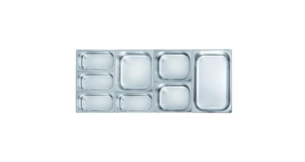 Gastronorm-Einsatz 1/2 10,0 cm tief 1