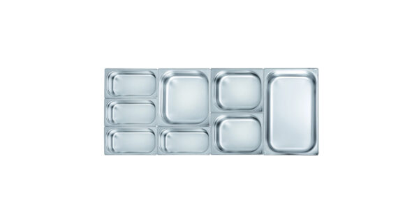 Gastronorm-Einsatz 1/1 6,5 cm tief 1