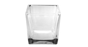 Glas CUBE 8 cm 12