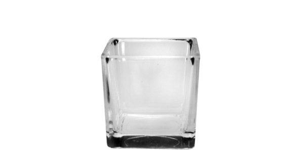 Glas CUBE 10 cm 3