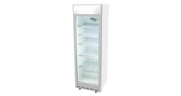 Kühlschrank 360 l weiß mit Glastür 3