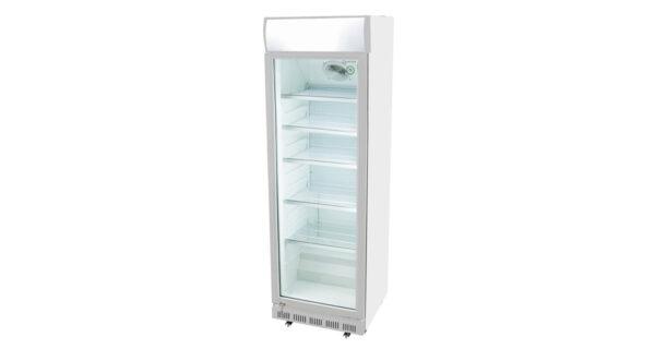 Kühlschrank 360 l weiß mit Glastür 1