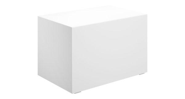 Loungetisch 70cm weiß 3