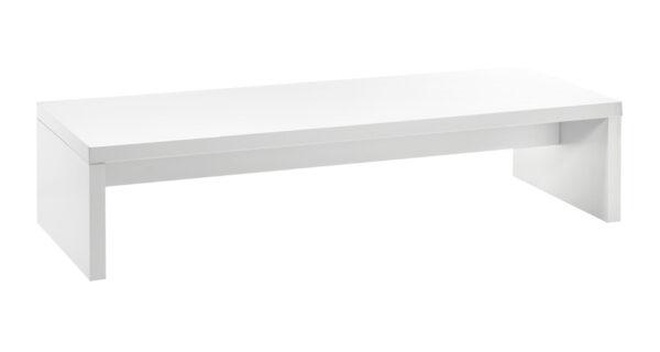 Loungetisch Brücke 1,80m weiß 1