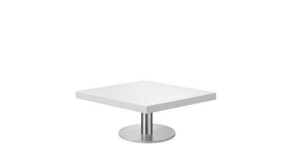 Loungetisch New York 68cm weiß 1