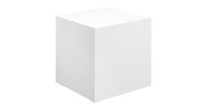 Loungetisch 45cm weiß 10