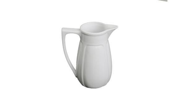 Porzellankrug 1,5 Liter weiß 1