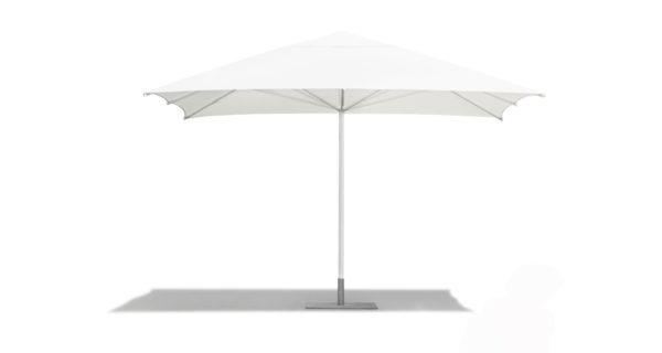 Sonnenschirm 4,0 x 4,0 m weiß 3