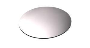 Spiegelplatte Ø 25 cm 7