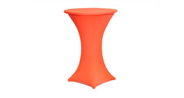 Stehtischhusse Sydney orange 1