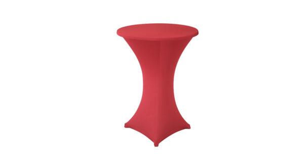 Stehtischhusse Sydney rot 1