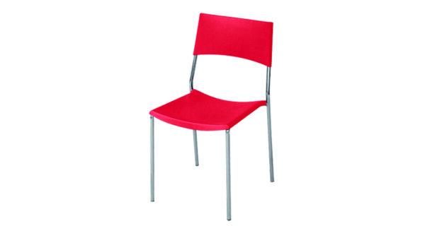 Stuhl Berlin rot 1