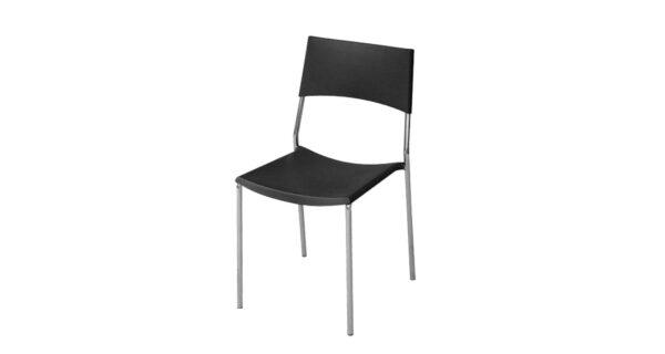 Stuhl Berlin schwarz 1
