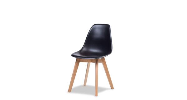 Stuhl Florenz schwarz 1