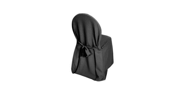 Stuhlhusse schwarz 1