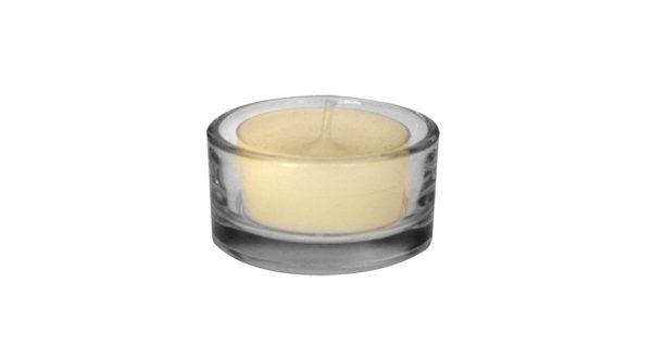 Teelichtglas klar Ø 5 cm klein 3