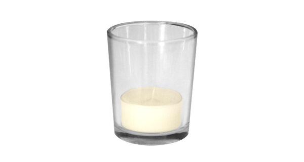 Teelichthalter Glas 1