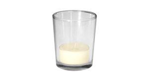 Teelichthalter Glas 9