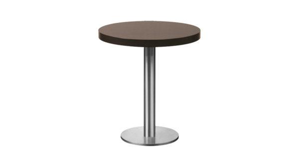 Tisch New York Ø 75cm braun 3