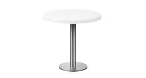 Tisch New York Ø 75cm weiß 16