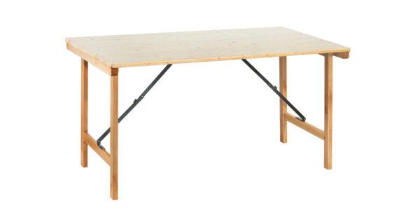 Tisch klappbar 1,50x0,76m 3