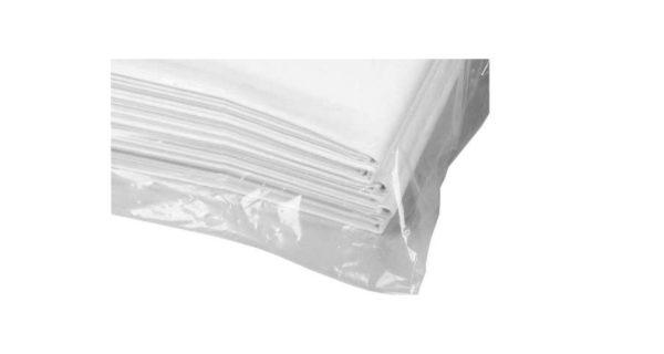 Tischdecke 1,00x1,00 m weiß 3