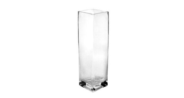 Vase Glas Square 20 cm hoch 1
