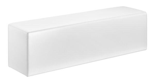 Loungebank Wave, weiß 1