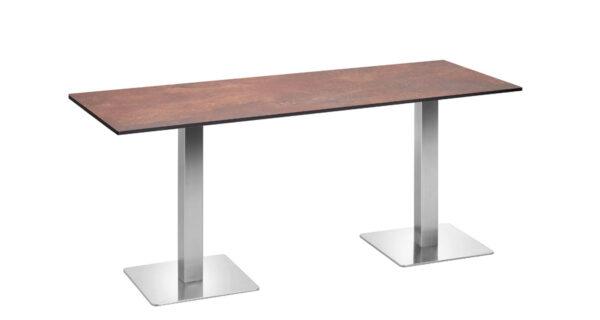 Tisch Boston 1,80m Rusty Steel 1