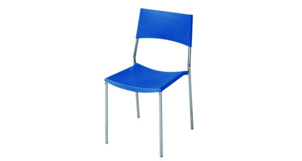 Stuhl Berlin blau 1