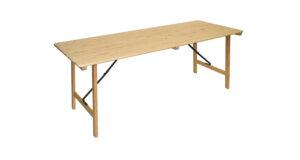 Tisch klappbar 2,00x0,80m 162