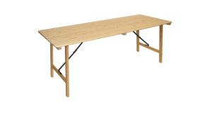 Tisch klappbar 2,00x0,76m 15