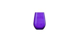 Wasserglas Viña -PURPLE- 35