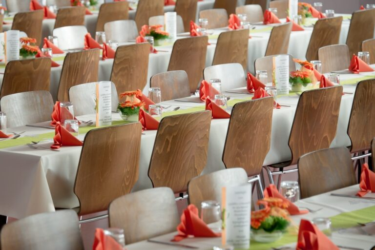 12 Typische Bestuhlungen bei Veranstaltungen