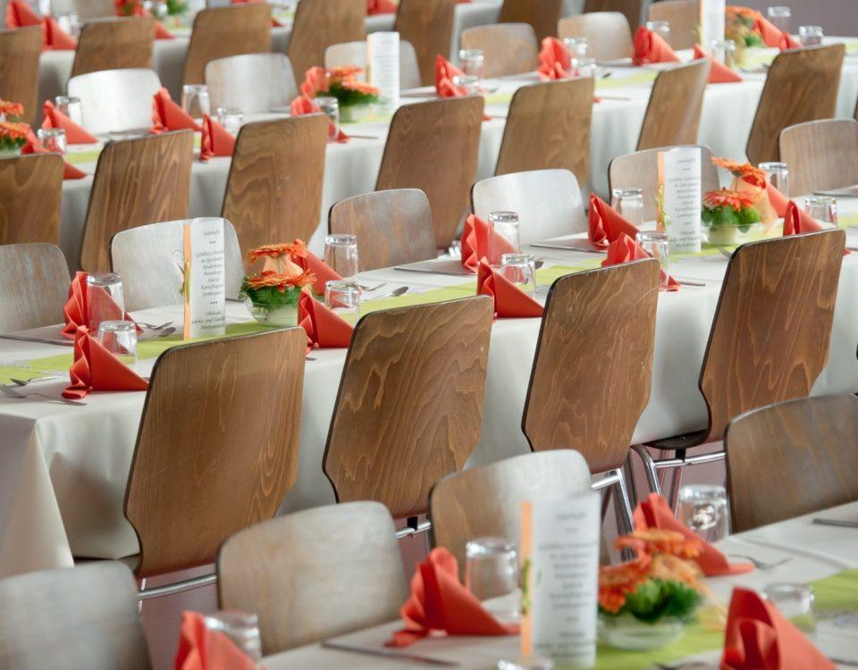 12 Typische Bestuhlungen bei Veranstaltungen 24